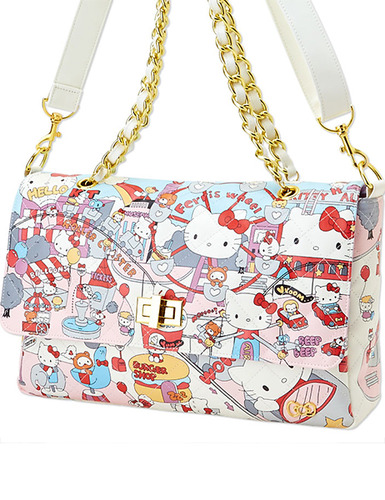[Hello Kitty Over Shoulder Bag]